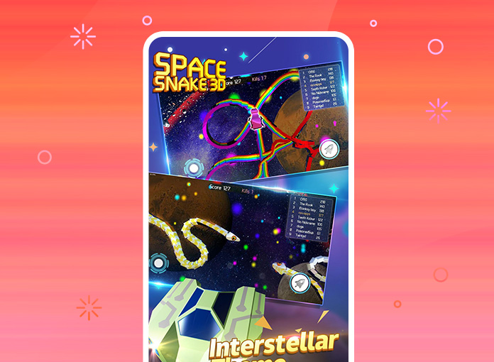 Space Snake 3D