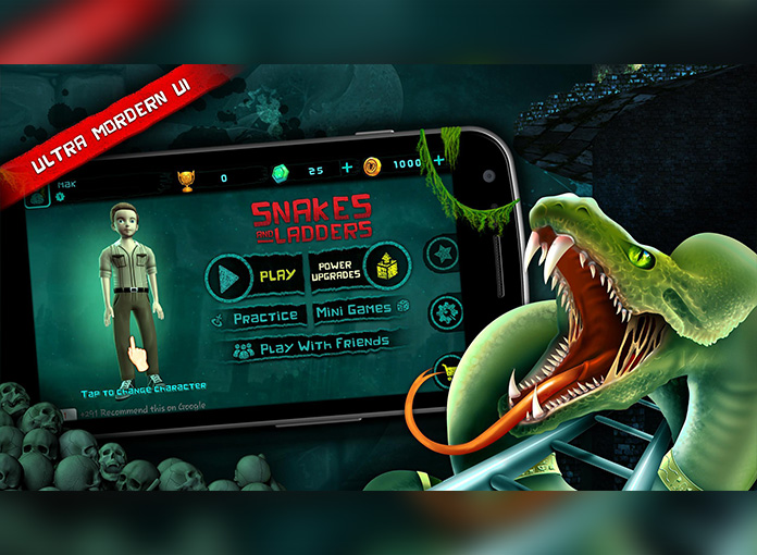 Snake & Ladders 3D Game