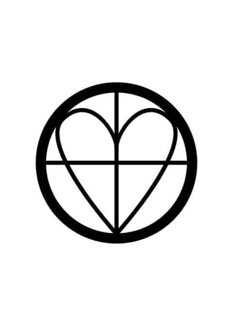 Love Symbol Illustration Poster